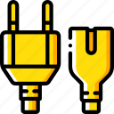 cable, component, computer, hardware, pc, power icon