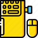 component, computer, laptop, mouse, pc, wirless icon