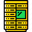 component, computer, hardware, pc, rack, server icon