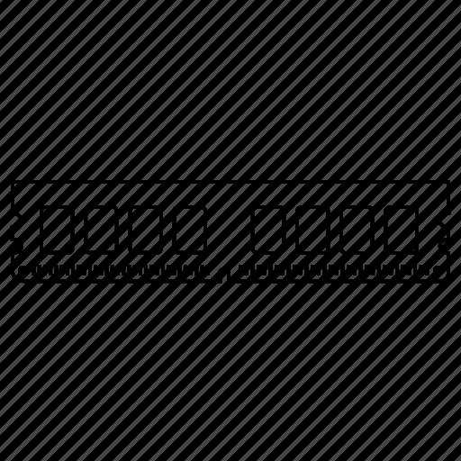 access, ddr2, memory, microchip, random, sdram icon