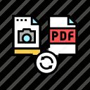 convert, photo, to, pdf, file, electronic