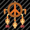adornment, cultures, dreamcatcher, peace