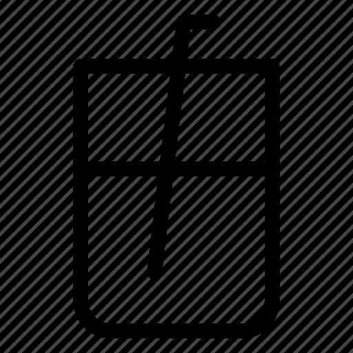 drink, liquid, soda, straw, water icon
