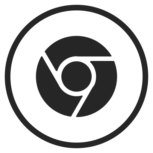 browser, chrome, google, social icon