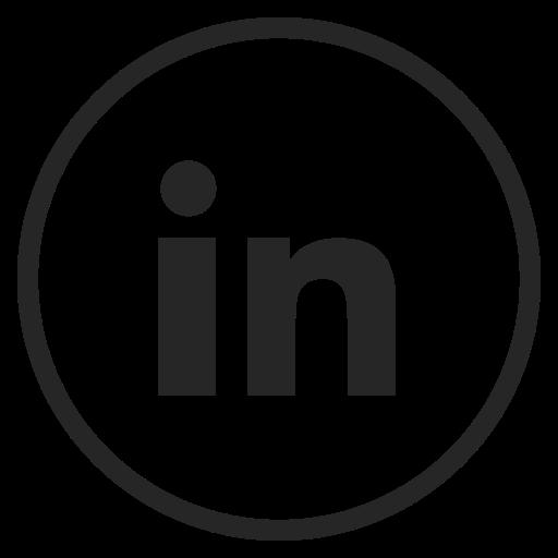 linkdin, logo, media, social icon