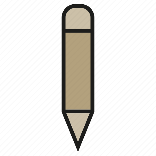 pen, pencil, stationery, writing icon