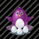 pinguin, egg, choice