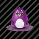 pinguin, cry, sorrow