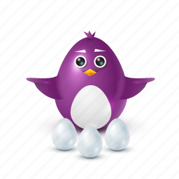choice, egg, pinguin icon