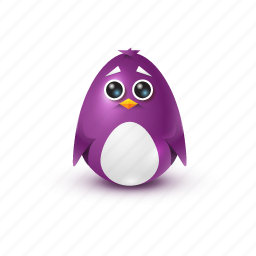 cry, pinguin, sorrow icon