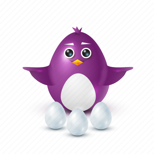 choice, egg, pinguin icon