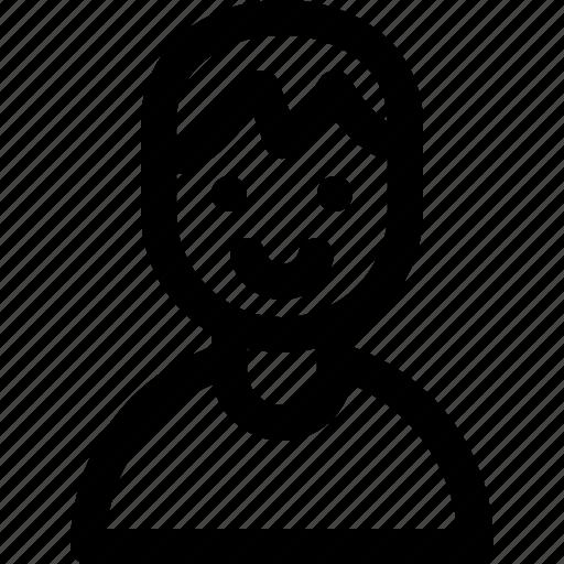 avatar, face, male, man, person, profile, user icon