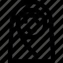 avatar, female, girl, islam, profile, woman, women icon
