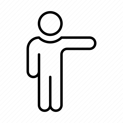 Avatar, hitchhiking, man, people, person, user icon - Download on Iconfinder