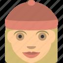 blondy, female, lady, user, women