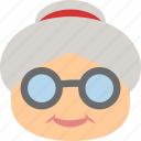 babushka, grammer, grandmother, old
