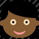 black girl, child, childhood, girl icon