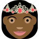 crown, princes, princessa, royal