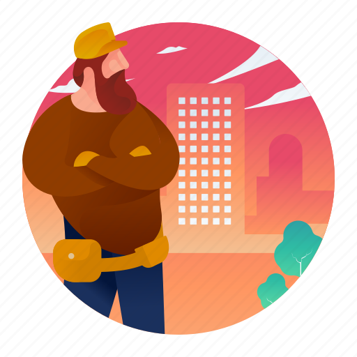 Builder, construction, man, worker icon - Download on Iconfinder