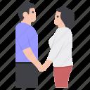 couple, dating, matrimonial, relationship, spouse icon