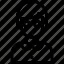 avatar, bot, nerd, people, user