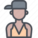 avatar, hip, hop, male, man, people, user icon