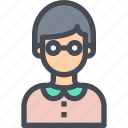 avatar, bot, male, man, nerd, people, user icon