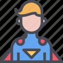 avatar, hero, male, man, people, superhero, user