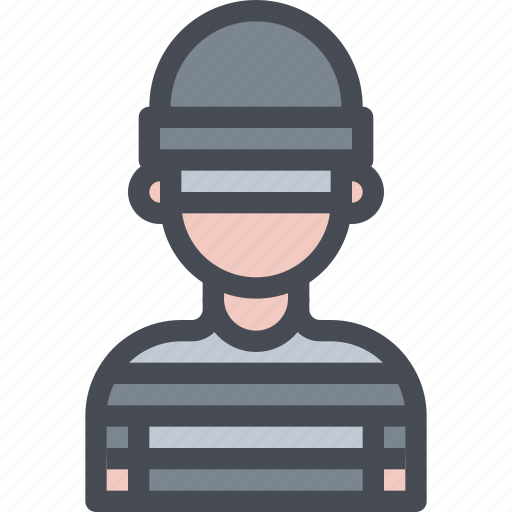 avatar, criminal, male, man, people, robber, user icon
