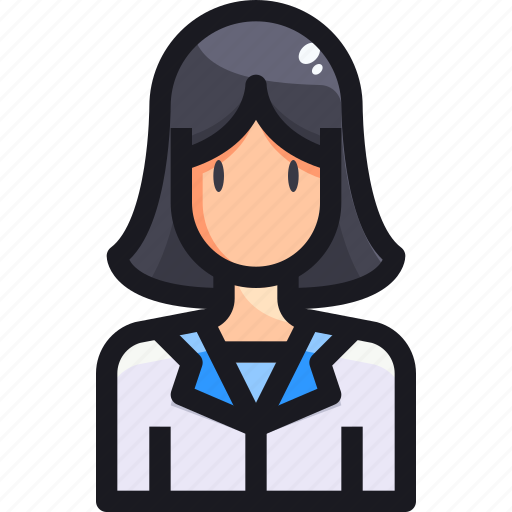 Avatar, character, people, user, woman icon - Download on Iconfinder