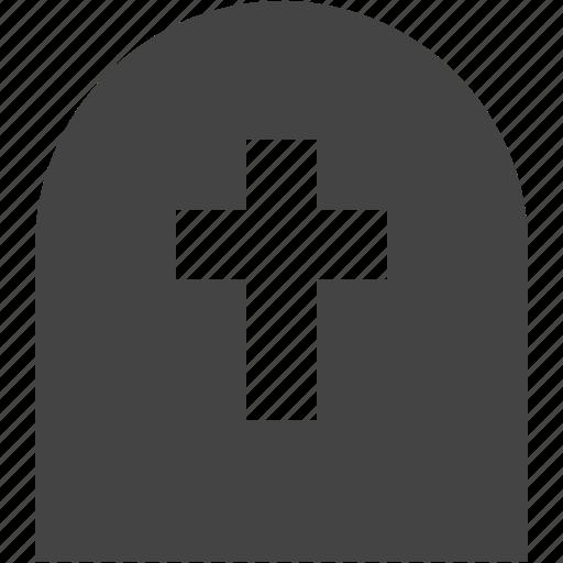 death, gravestone, life icon