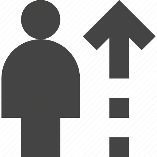 growth, height, human, user icon