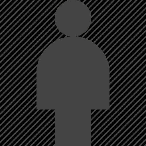 human, person, user icon