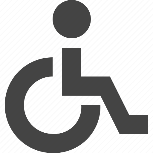 accessibility, disability, wheelchair icon