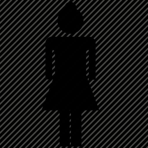 female, girl, people, woman icon