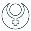 female, ring, sign, woman icon