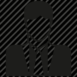 avatar, business man, career, human, man, people, profession icon