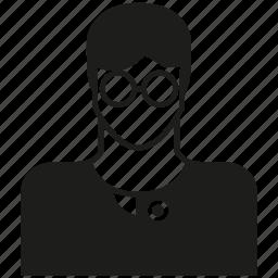 avatar, career, human, man, nerd, people icon