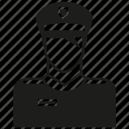avatar, human, man, people, police icon