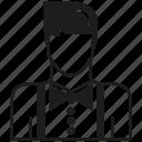 avatar, career, human, man, people, profession, waiter