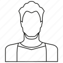 avatar, character, member, people, person, profile, user icon