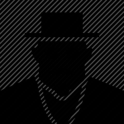 Gangster, employer, kingpin, boss icon
