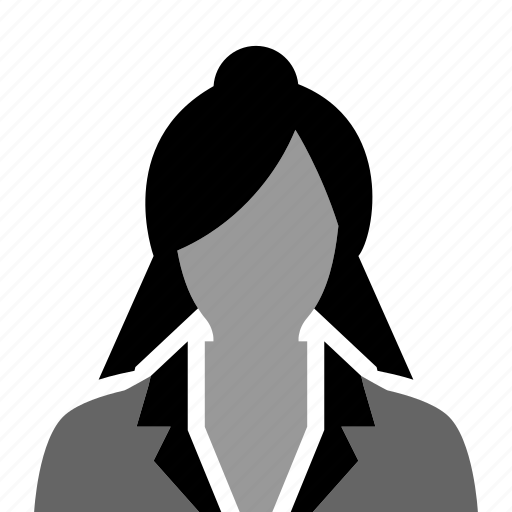 business, businesswoman, employee, female, girl, office, woman icon