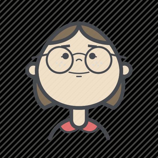 avatars, child, female, girl, people, user, woman icon