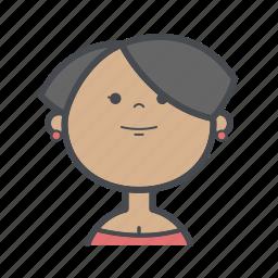 avatars, female, girl, people, profile, user, woman icon