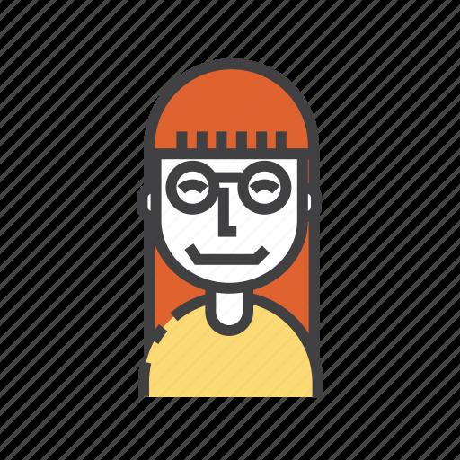 avatar, business, smatr, user, woman icon
