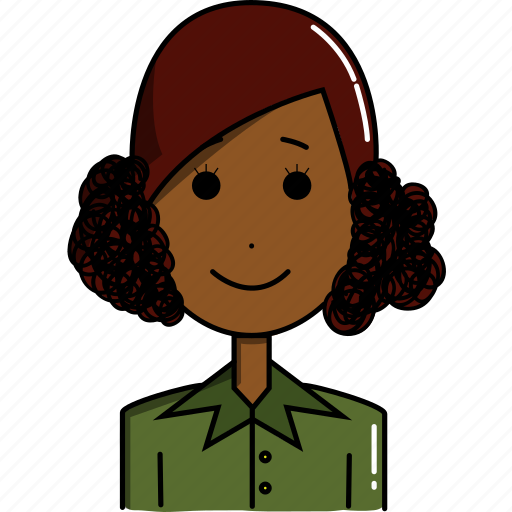 avatar, avatars, character, cute, faces, girl, people icon