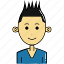 avatar, avatars, boy, characters, cute, faces, people icon