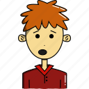 avatar, avatars, characters, cute, faces, people, teenager icon