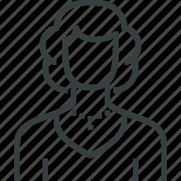 actress, avatar icon